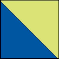 889 Azul Royal-Amarillo Fluor